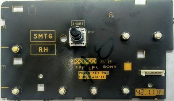 Placa Teclado 1-883-413-11 Receiver Sony Str-dh820