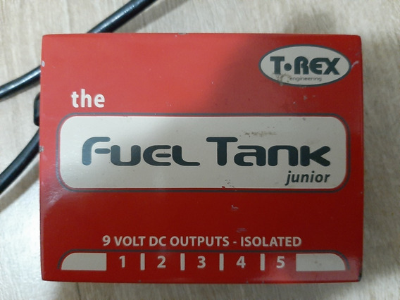 T Rex Fuel Tank Jr - Fonte Isolada Para Pedais 9v