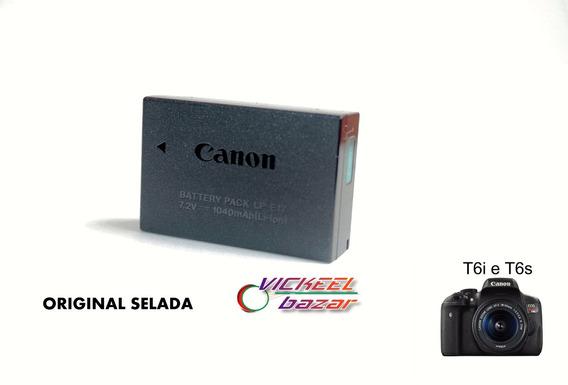 Bateria Canon Original Lpe-17 Para T6s E T6i