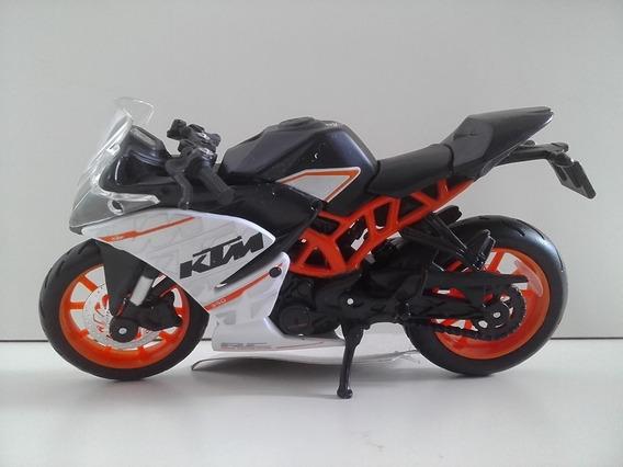 Miniatura Moto Ktm Rc 390 Escala 1.18 Rara