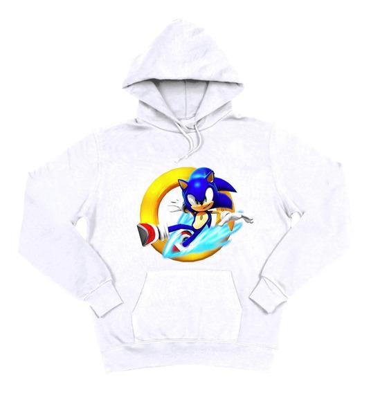 Sudadera Con Gorro Sonic Película Niño 5 A 16 Años Moda