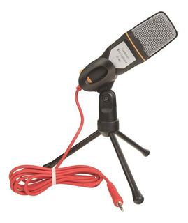 Micrófono SF 666 condensador omnidireccional negro