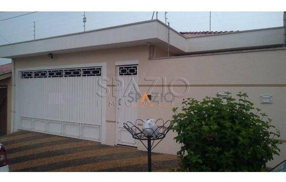 Casa Residencial Para Venda E Locação, Jardim Itapuã, Rio Claro. - Ca0072