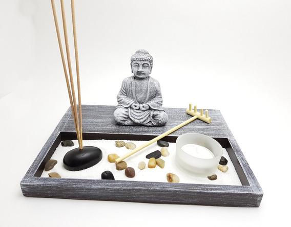 Jardín Zen Buda Meditación Feng Shui Budismo 250.hy161
