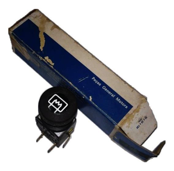 Chave Botão Vidro Traseiro Opala 79 80 Desembaçador Original