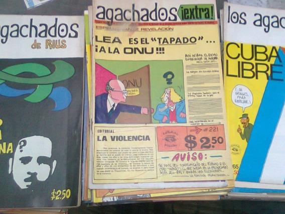 Los Agachados De Rius Lote De 194 Comics De Colección