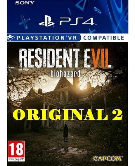 Resident Evil 7 Biohazard - Ps4 Digital 2 Pt-br