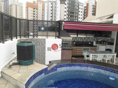 Cobertura Residencial À Venda, Anália Franco, São Paulo - Co0153. - Co0153