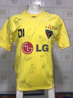 Camisa Rogerio Ceni São Paulo Autografada Jogadores