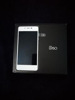 Celular Lanix Ilium L950 Smartphone Android 4.4 Color Blanco