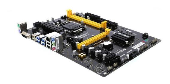 Tarjeta Madre Biostar Tb250-btc Lga 1151 Intel B250 Nueva