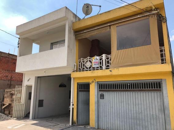 Sobrado Residencial À Venda, Pirituba, Arujá. - So0262