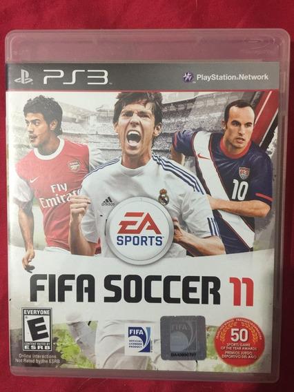 Fifa Soccer 11 Ps3 Original, Mídia Física - A Pronta Entrega
