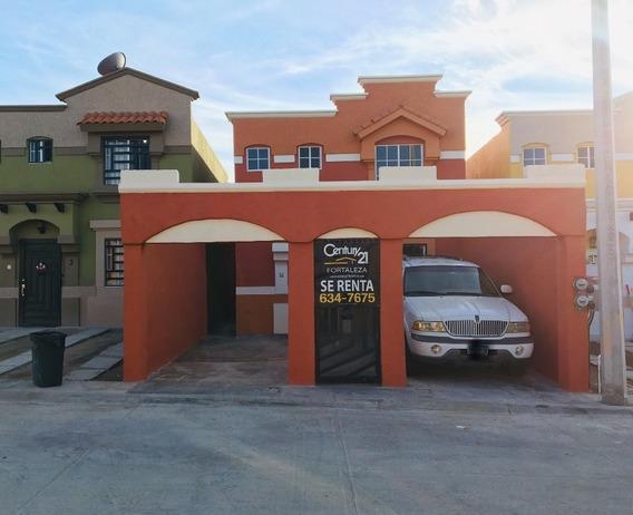 Casa Ampliada En Renta, En Fracc. Urbi Quinta Del Cedro, Tijuana B.c.