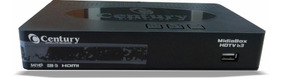 Receptor E Conversor Digital Midiabox B3 Hdtv Century