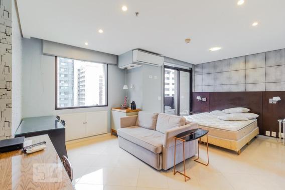 Apartamento Para Aluguel - Itaim Bibi, 1 Quarto, 80 - 892995115