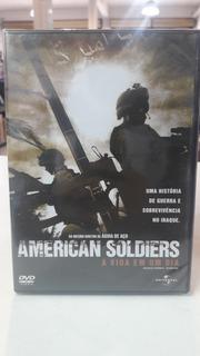 Dvd Filme American Soldiers Original Lacrado