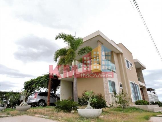 Vende-se Linda Casa De Esquina No Residencial Ninho - Ca2609