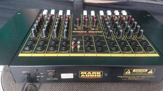 Mesa De Som Mark Audio M8s General Mixer
