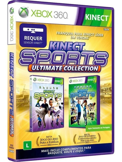 Kinect Sports Ultimate Collections Xbox 360 Mídia Física