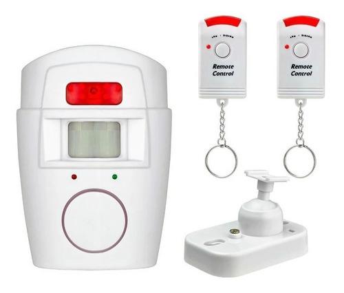 Imagen 1 de 5 de Alarma Casa Sensor Movimiento Con 2 Controles Electroimporta