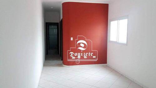 Cobertura À Venda, 67 M² Por R$ 339.000,00 - Vila Humaitá - Santo André/sp - Co11013