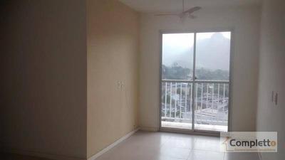 Ótimo Apartamento 2 Quartos Na Taquara - Ap0044