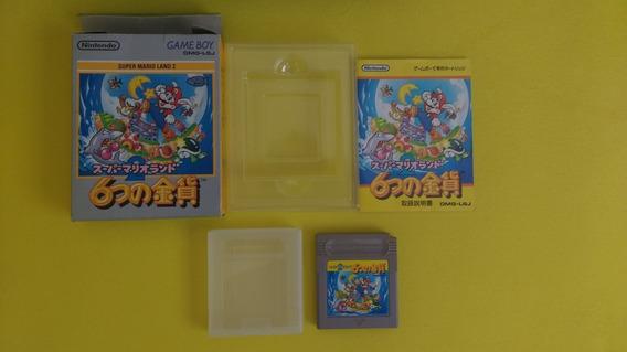 Super Mario Land 2 Cib - Game Boy - Original Em Ótimo Estado
