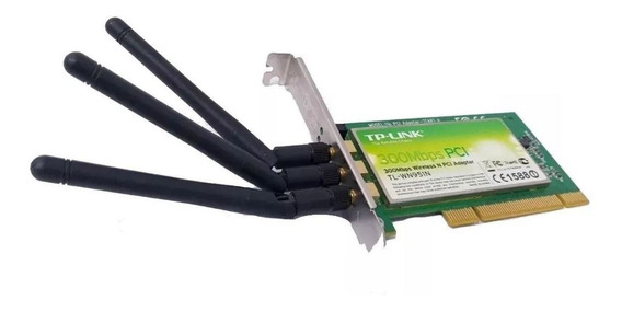 Placa Wifi Tp Link 300mbps Pci Tl Wn951n Interno
