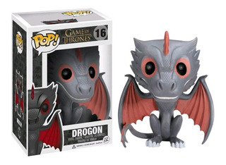 Figura Muñeco Funko Pop Games Of Thrones Drogon 16 Original