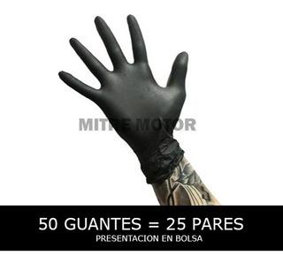 Guantes Descartables De Nitrilo + Resistentes!