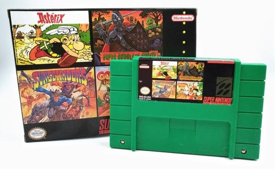 Top Jogos Aventura Super Nintendo / Snes Com Caixa E Berço