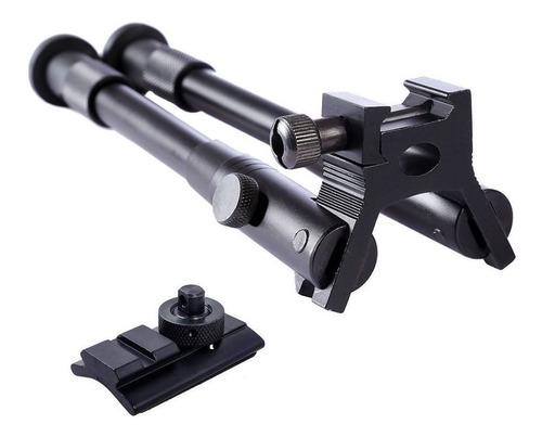 Imagem 1 de 10 de Bipe Em Alumínio Para Coronha De Rifle Carabina - Sniper