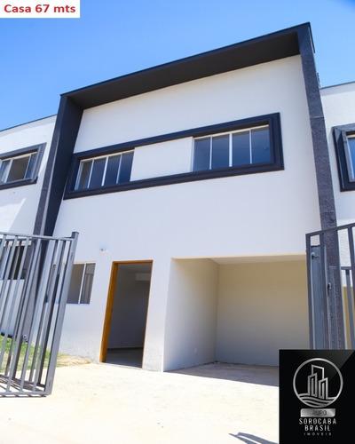 Sobrado Com 2 Dormitórios À Venda, 67 M² Por R$ 165.000 - Jardim Santa Esmeralda - Sorocaba/sp - Ca00074 - 67692364