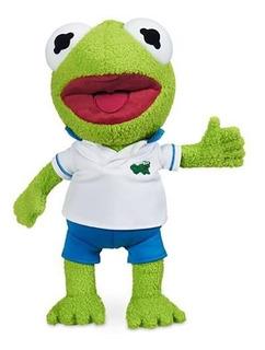 Peluche Kermit Muppets Babies Disney Store Rana Rene