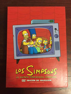 Dvd The Simpsons Season 5 Edición De Colección Original