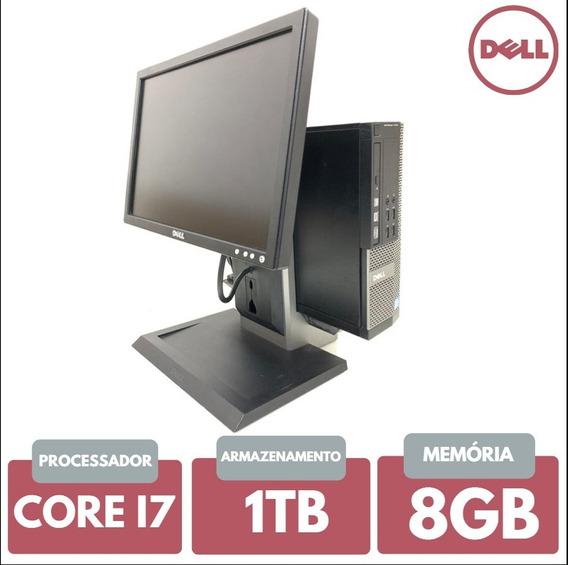Cpu E Monitor Dell Core I7 8gb 1tb Adquira A Sua