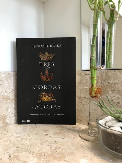 Livro Três Coroas Negras De Kendare Blake