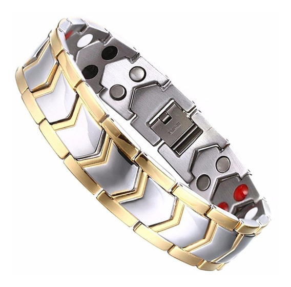 Pulseira Bracelete Magnética Terapia Emagrecer Perca Peso Im