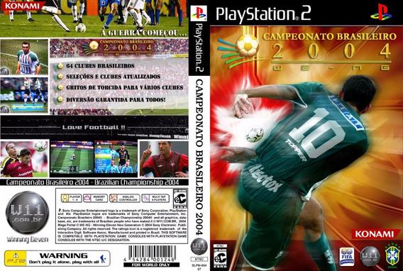 Winning Eleven Campeonato Brasileiro 2004 - Playstation 2
