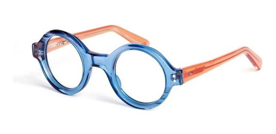 Armazón Lentes Niños Infinit Tabu - Azul Y Naranja