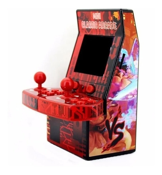 Mini Arcade Fliperama Video Game 183 Jogos - Powerfigures