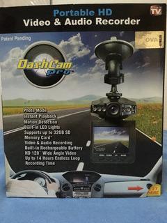 Cámara Portátil Para Auto Dash Cam Pro