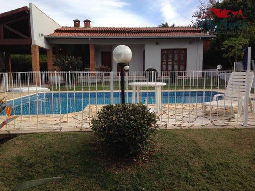 Imagem 1 de 30 de Casa Locação Terras De Itaici - Ch0124