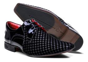 bb70ce6fc Sapato Social Com Cadarço Calvest - Calçados, Roupas e Bolsas com o ...