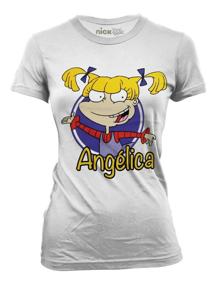 Playera Oficial Nickelodeon Rugrats Angélica Para Dama