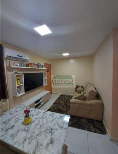 Imagem 1 de 6 de Apartamento Com 2 Dormitórios À Venda, 38 M² Por R$ 230.000,00 - Planalto - Manaus/am - Ap3398