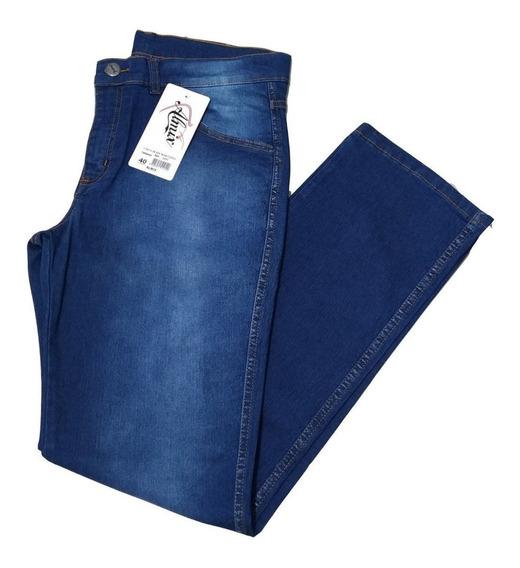 Calça Jeans Masculina Com Lycra.