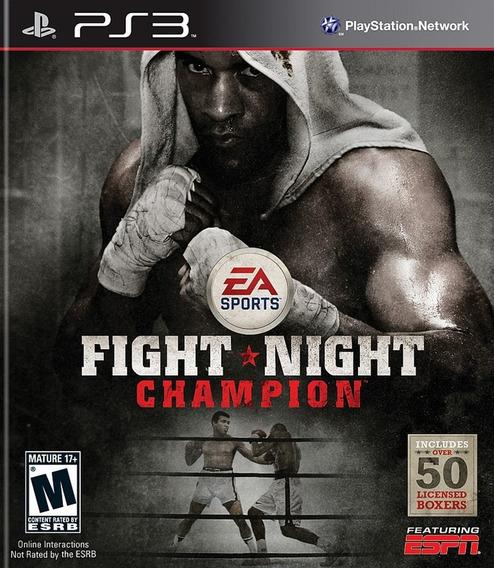 Fight Night Champions Ps3 Mídia Física Pronta Entrega