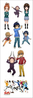 Plancha De Stickers De Anime Bakuman